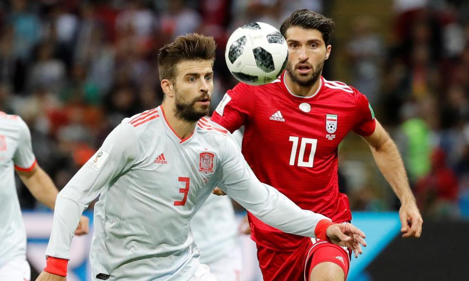 Piqué para Queiroz: «Sem VAR o golo do Irão também teria sido invalidado»