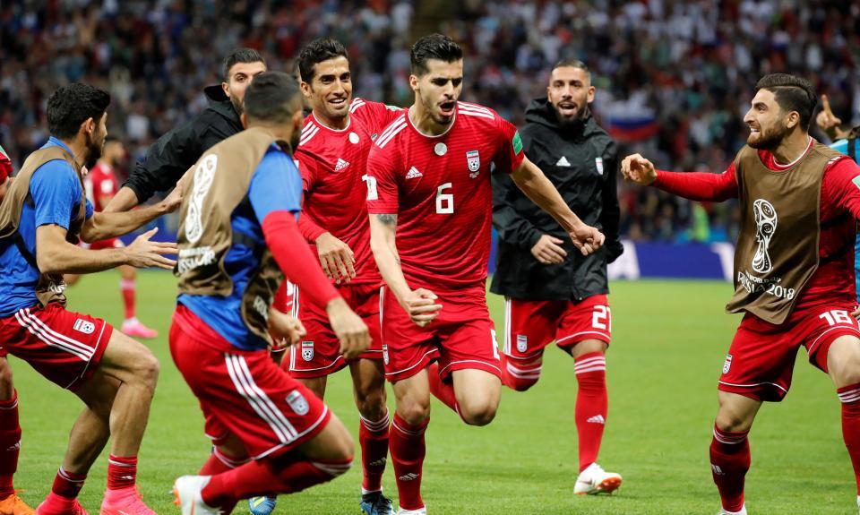 Mundial 2018: membro da seleção do Irão hospitalizado durante jogo