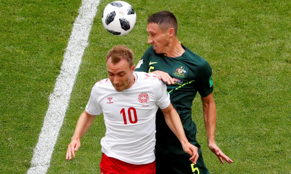 Dinamarca: «Eriksen tem um problema na espinal medula»
