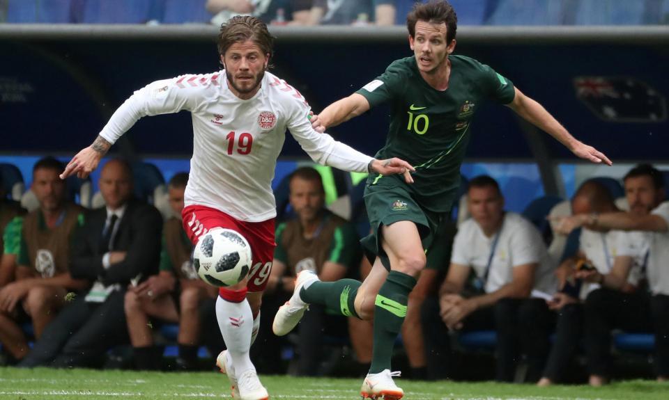 Mundial 2018: Dinamarca-Austrália, 1-1 (resultado final)