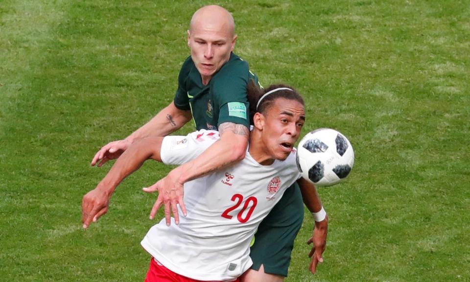 e52323fd63 Mundial 2018  jogador dinamarquês troca de nome em homenagem ao pai ...
