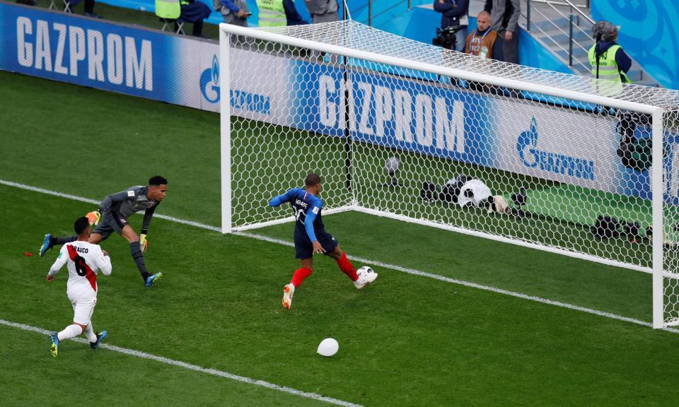 Mundial 2018: França-Peru, 1-0 (resultado final)