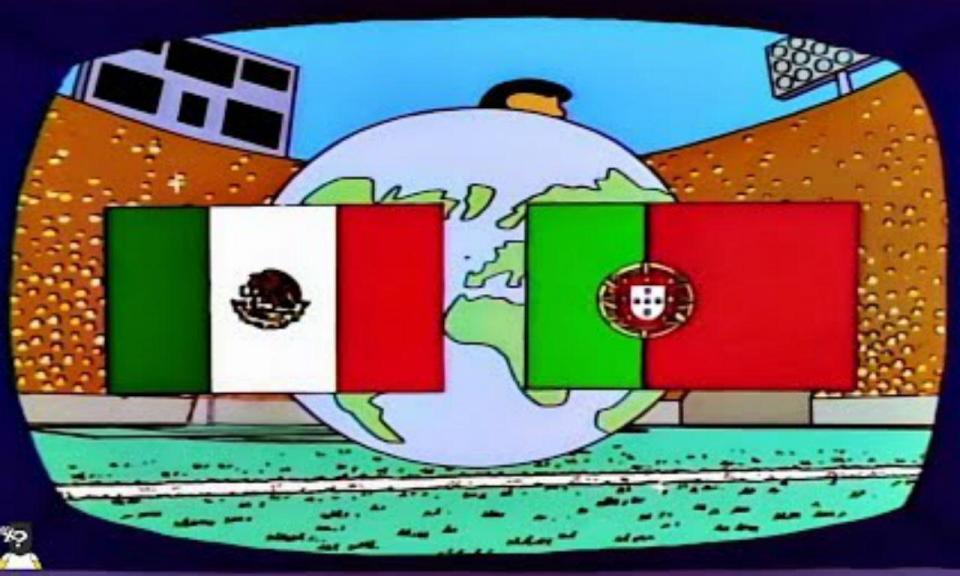 Final do Mundial entre Portugal e México já aconteceu n'Os Simpsons