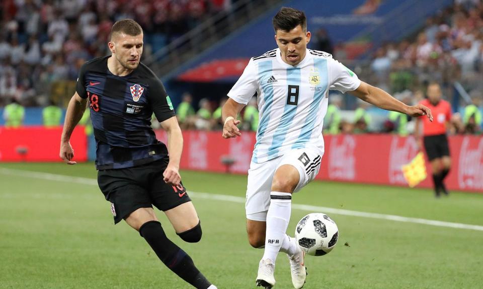 Acuña na pré-convocatória da Argentina para a Copa América