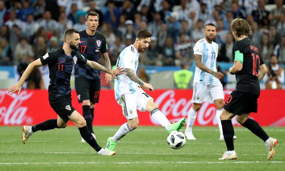 Argentina-Croácia, 0-3 (resultado final)
