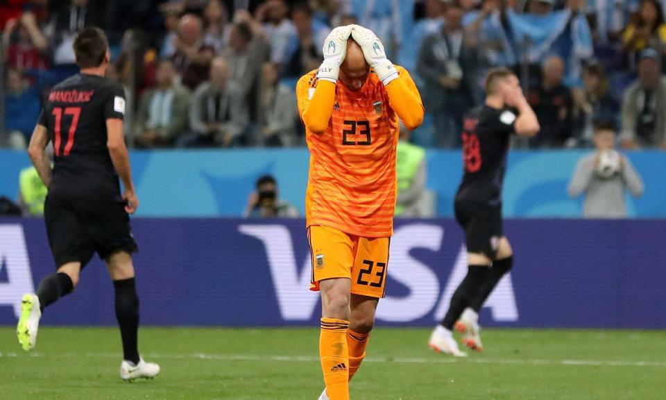Mundial 2018: Caballero revela ameaças à sua família