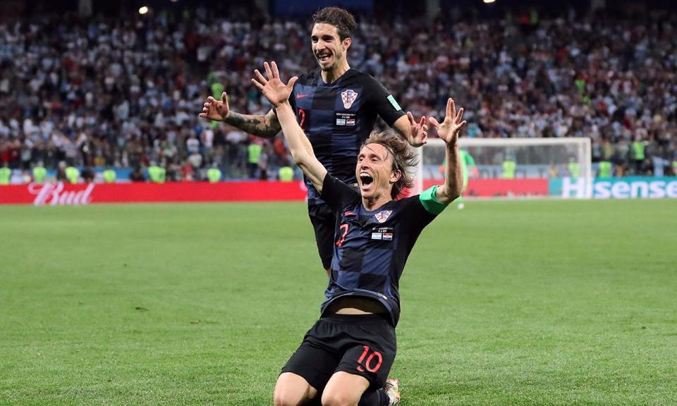 Modric: «Vencer o Mundial com a Croácia seria um conto de fadas»