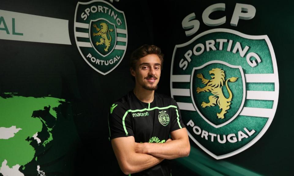 Sporting: Francisco Geraldes no Eintracht Frankfurt