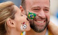 Mundial 2018: adeptos do Brasil