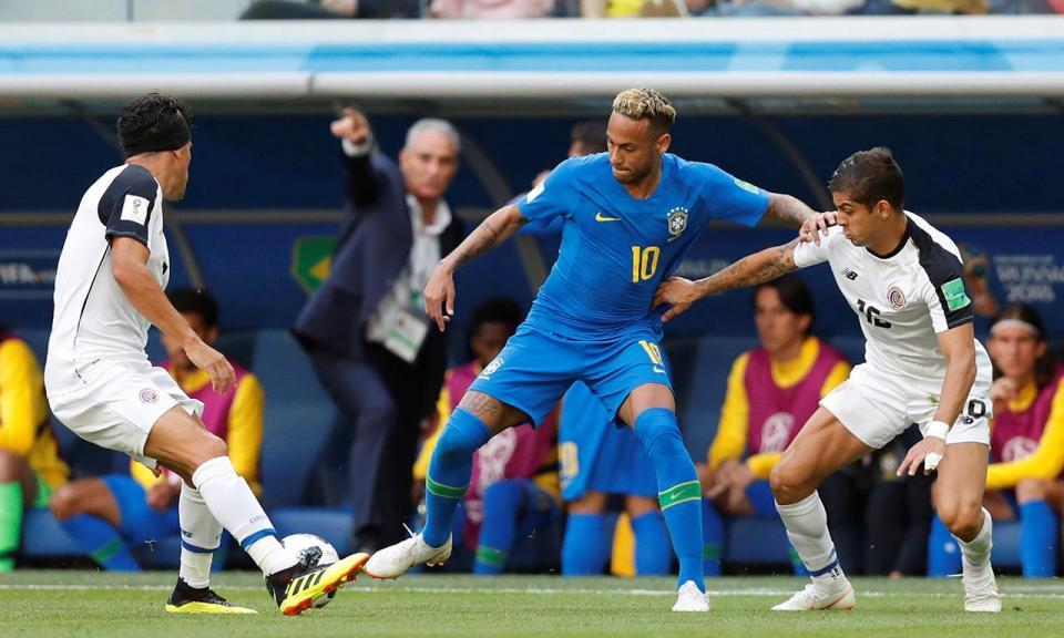 Mundial 2018: Brasil-Costa Rica, 2-0 (resultado final)