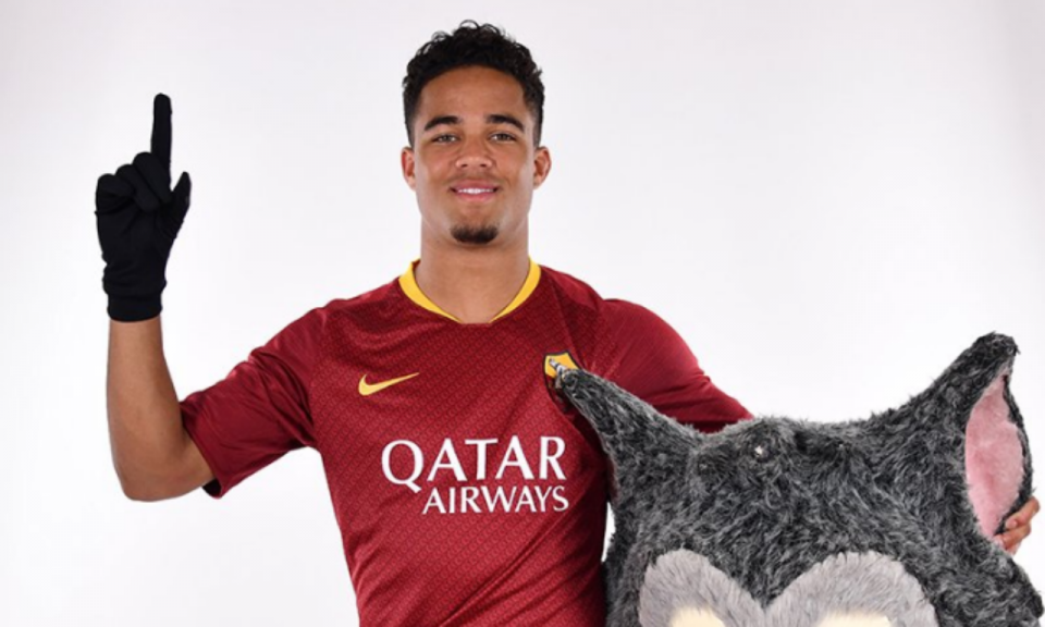 OFICIAL: Justin Kluivert na Roma