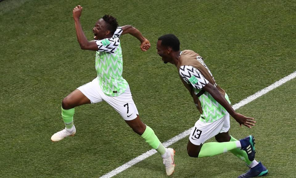 Musa sobe ao pódio dos melhores goleadores africanos em Mundiais ... 35f58e2085729