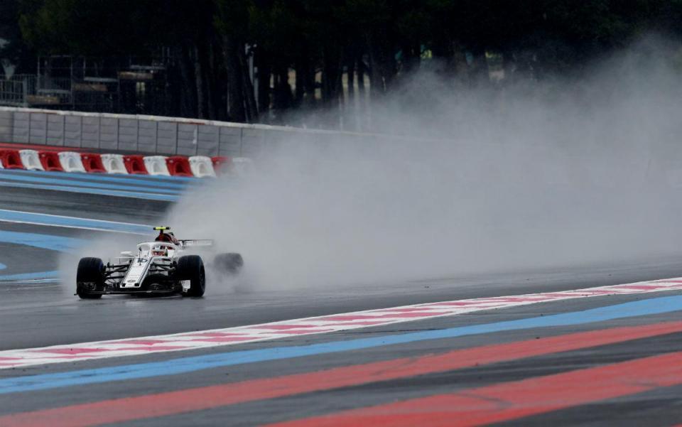 GP de França: chuva estraga últimos treinos antes da qualificação