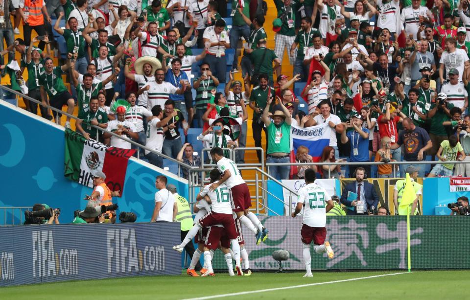 Coreia do Sul-México,1-2 (crónica)