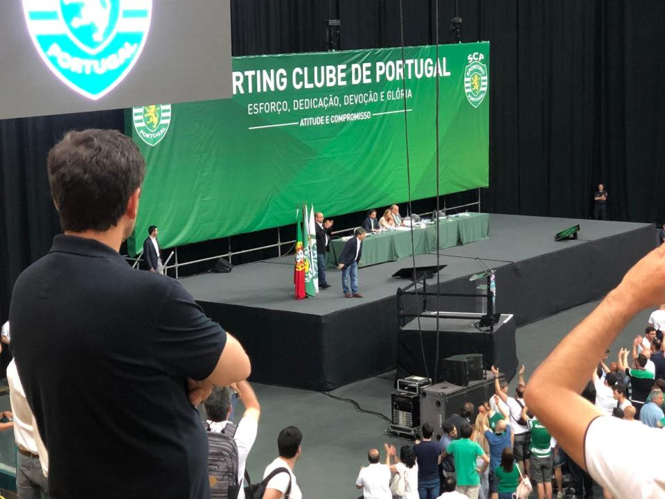 Sporting: serviços recusam receber adeptos para AG extraordinária
