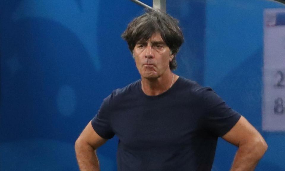 Joachim Löw: «O que gostei mais foi do espírito da equipa»