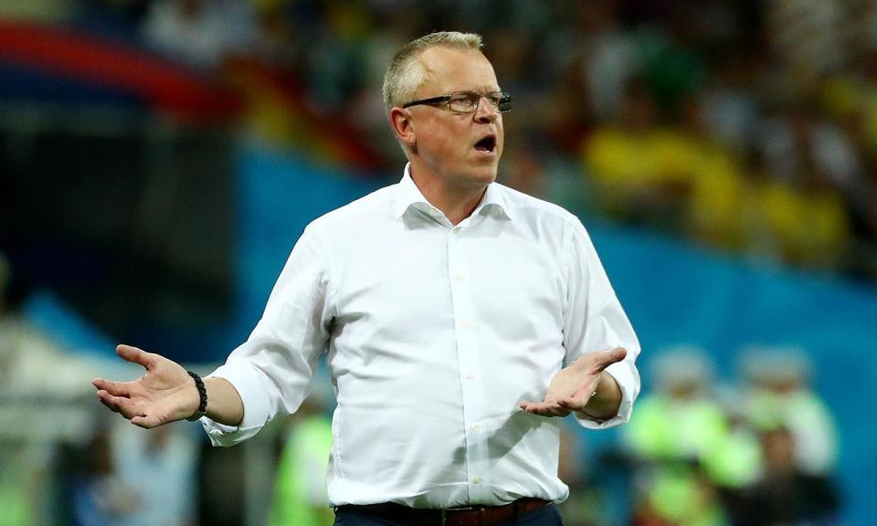 Janne Andersson: «Foi o pior final de jogo da minha carreira»