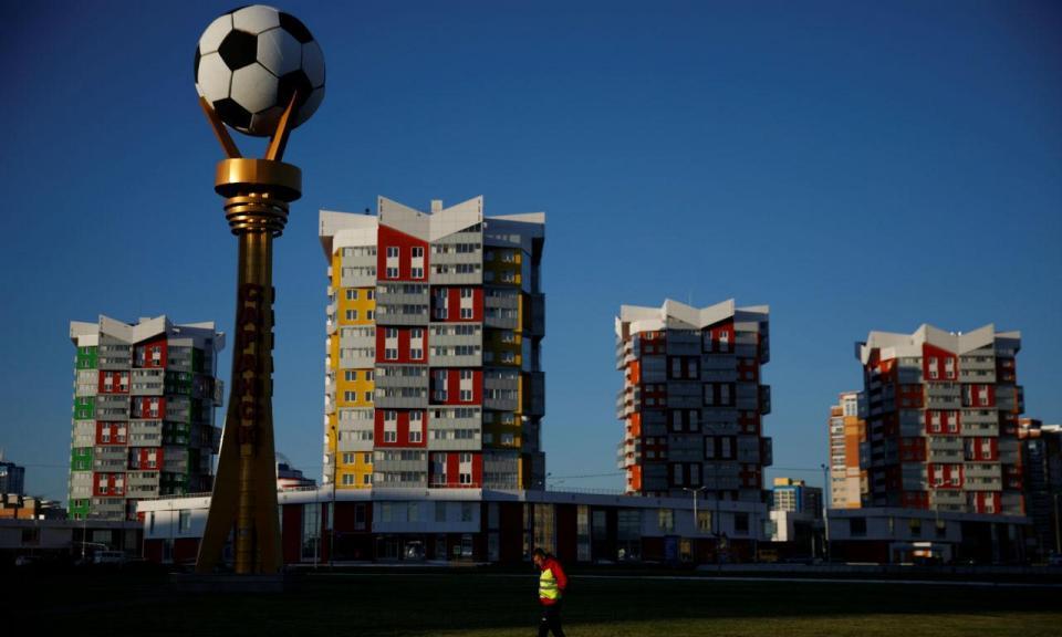 Saransk, a pequena cidade que Depardieu tornou famosa