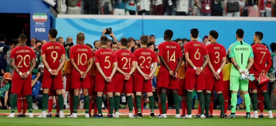 Uruguai-Portugal: Ricardo, Bernardo e Guedes titulares (oficial)