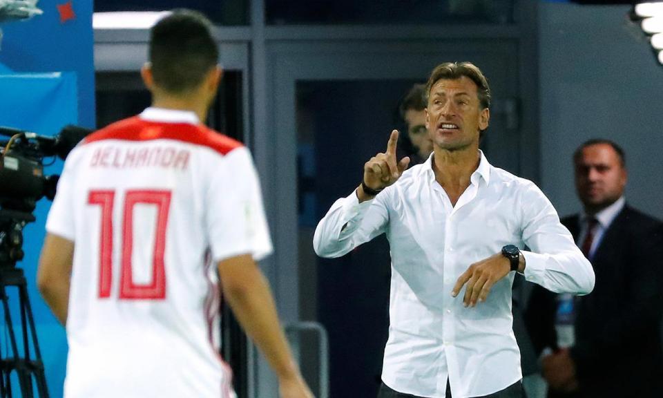 Selecionador marroquino aponta um possível «enorme erro de arbitragem»