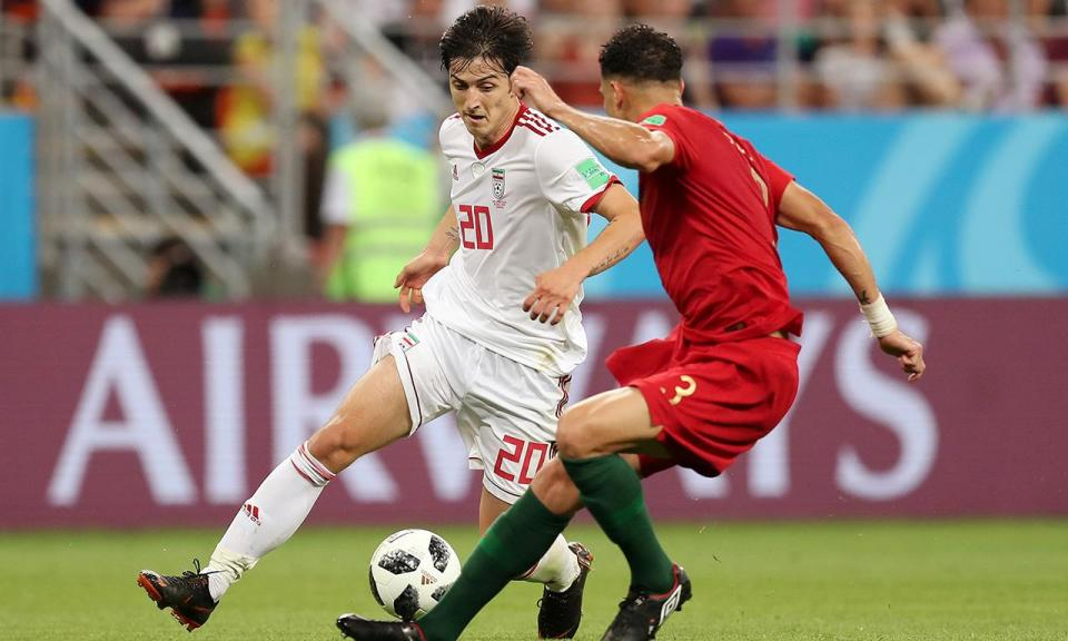 Azmoun renuncia à seleção do Irão aos 23 anos