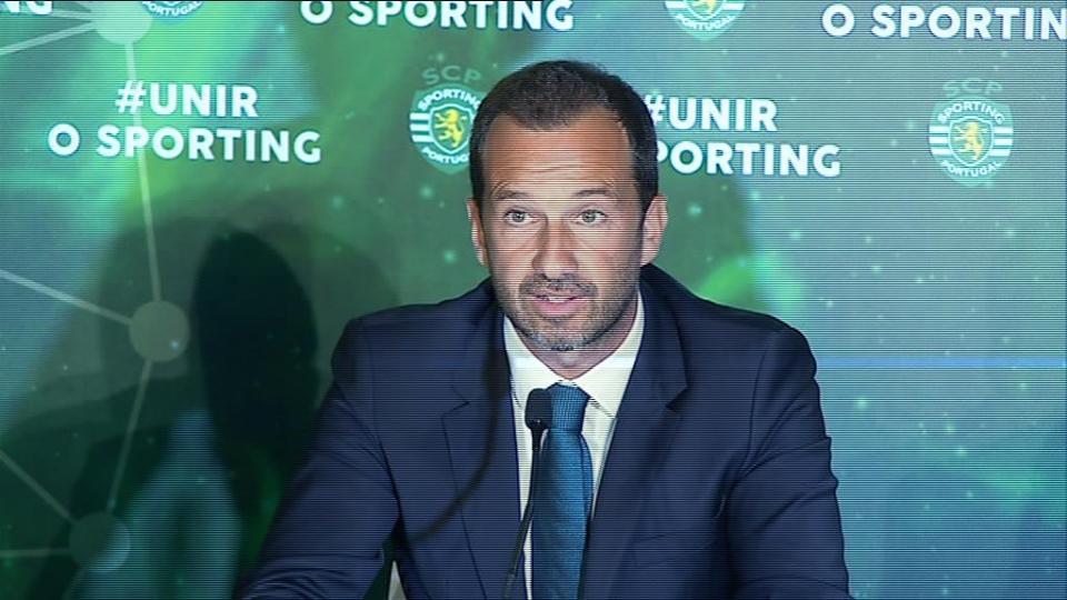 Sporting: Frederico Varandas é o primeiro a formalizar candidatura