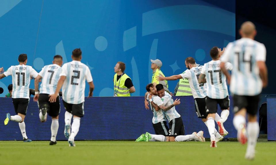 Mundial2018: Nigéria-Argentina, 1-2 (resultado final)