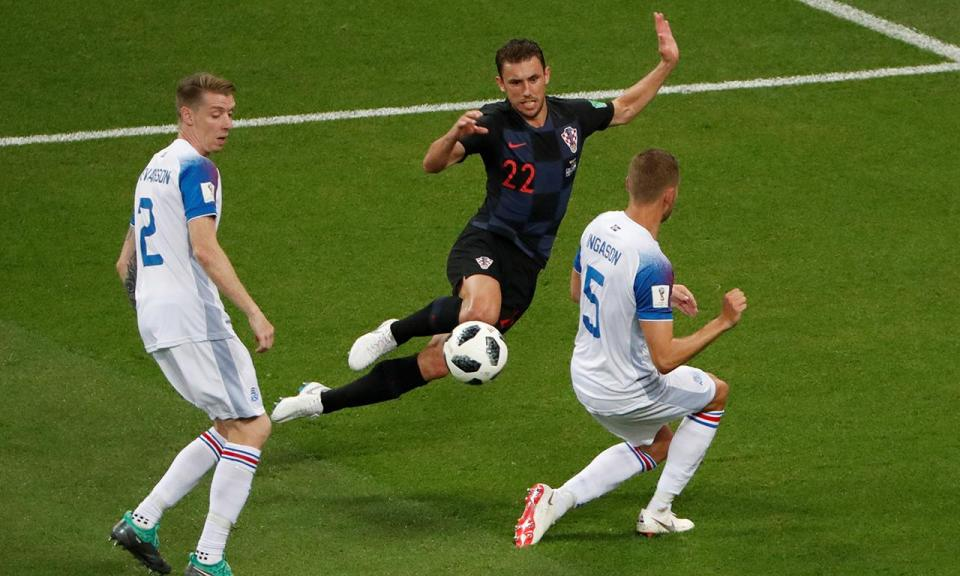 Mundial 2018: Islândia-Croácia, 1-2 (resultado final)