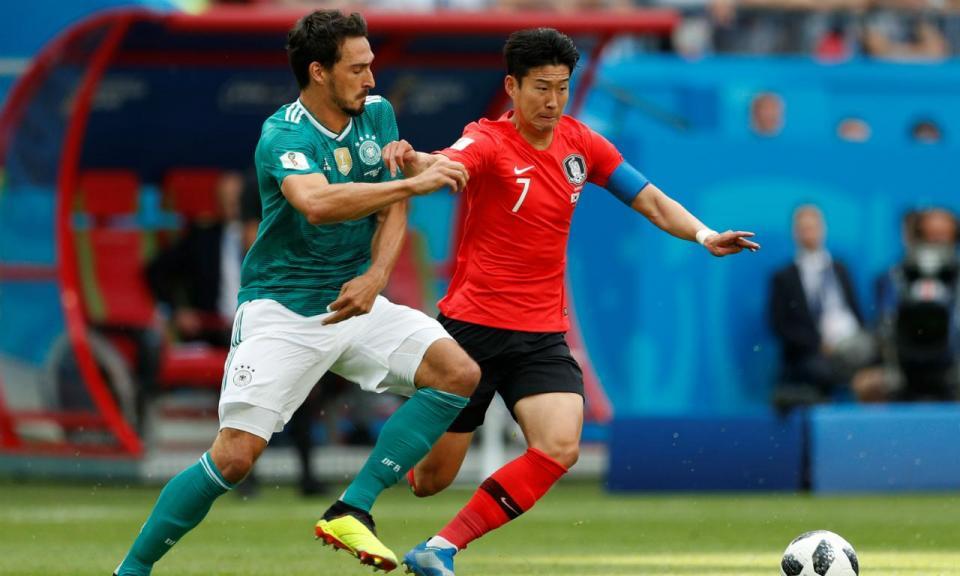 Mundial 2018: Coreia do Sul-Alemanha, 2-0 (resultado final)
