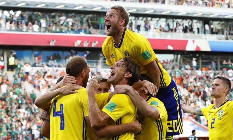 Mundial 2018: México-Suécia, 0-3 (crónica)