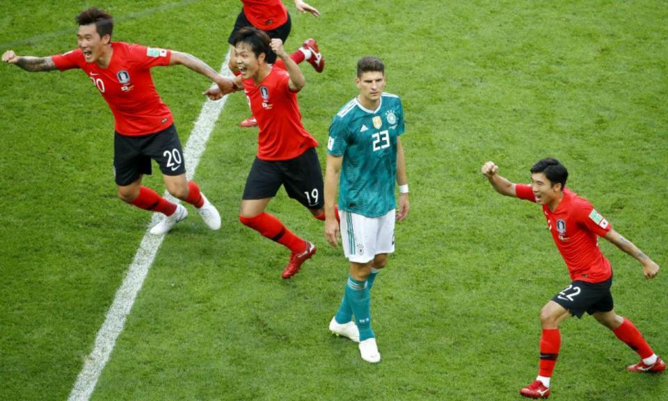 Mundial 2018: Coreia do Sul-Alemanha, 2-0 (crónica)
