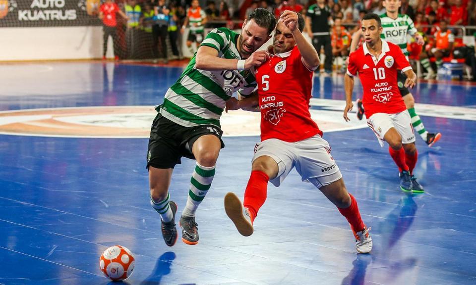 Futsal: Sporting e Benfica no mesmo grupo da Ronda de Elite