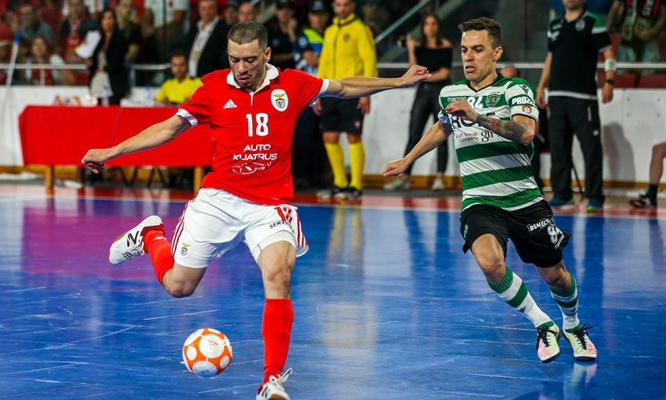 Futsal  Benfica-Sporting na 6ª jornada  cab4a0205eaf6