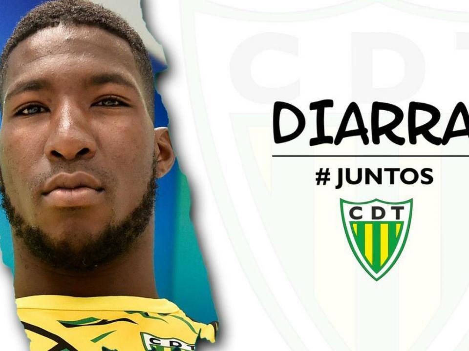 OFICIAL: Diarra é reforço do Tondela