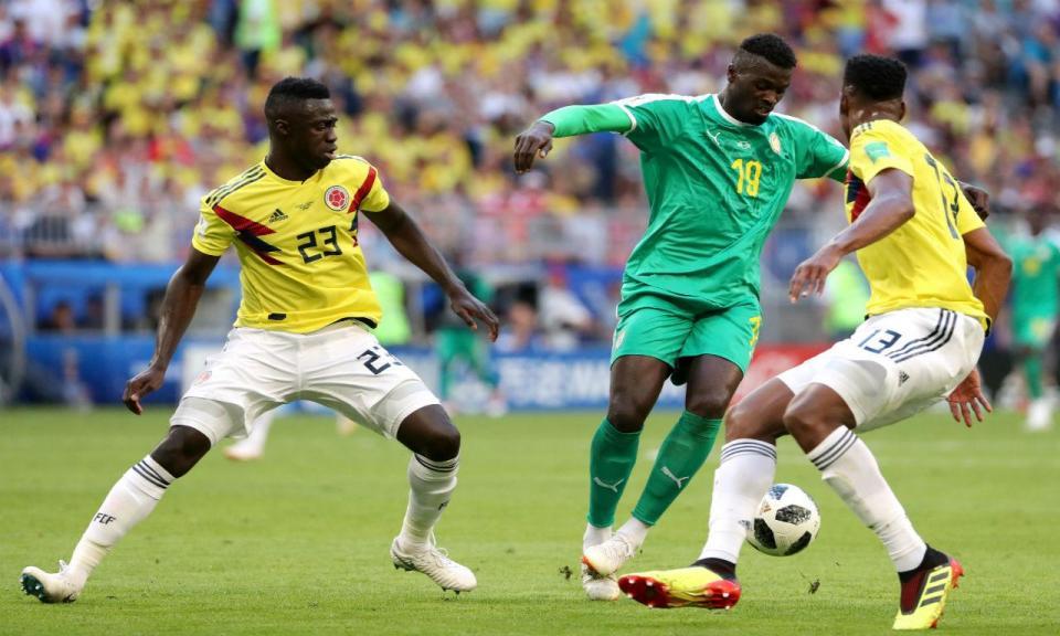 Mundial 2018: Senegal-Colômbia, 0-1 (resultado final)
