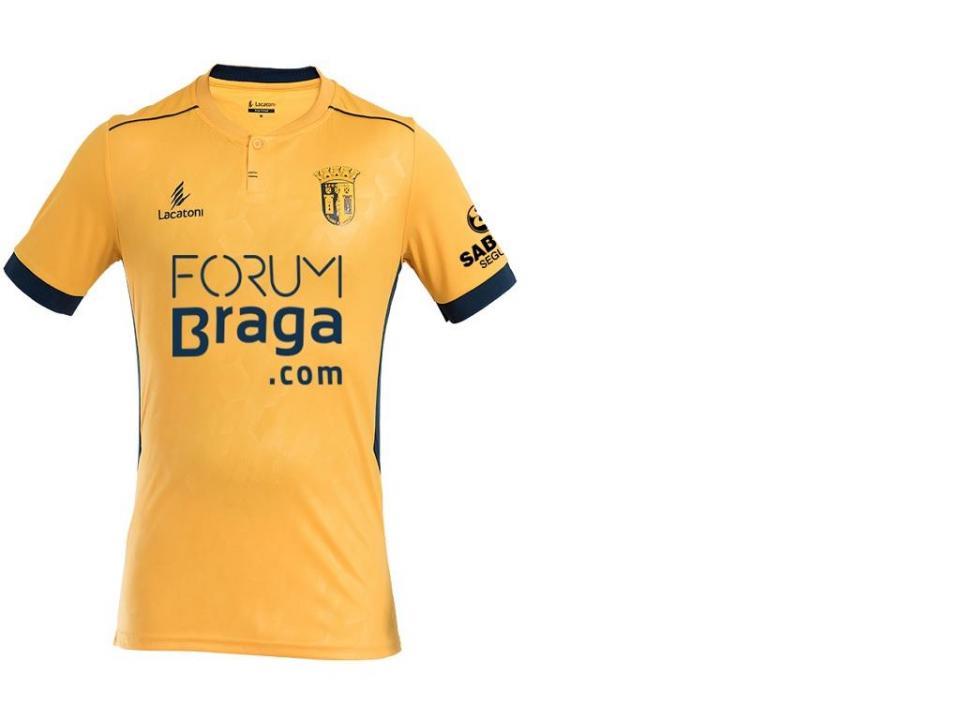 FOTO: Sp. Braga apresenta equipamento alternativo para 2018/19