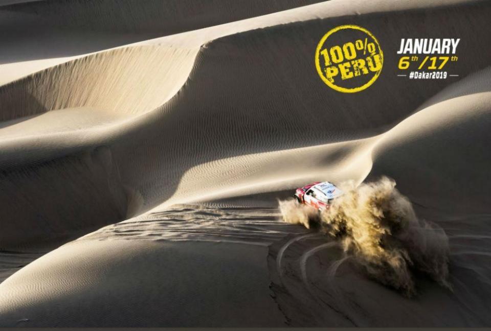 Dakar 2019 está confirmado no Peru
