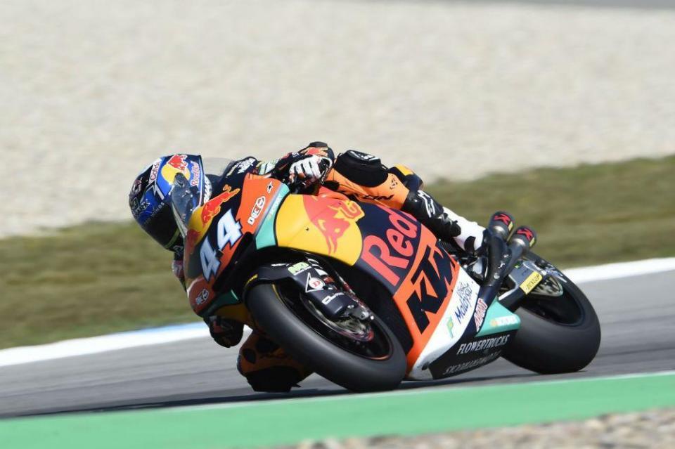 Moto2: Miguel Oliveira fecha dia em Sachsenring com o 13.º tempo