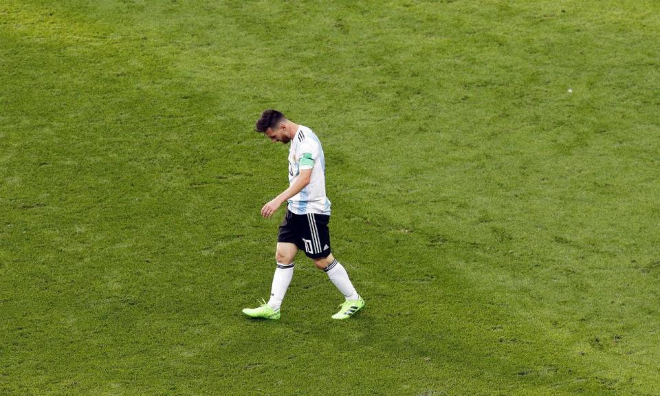 «Messi não está nos convocados da Argentina, é melhor que não venha»