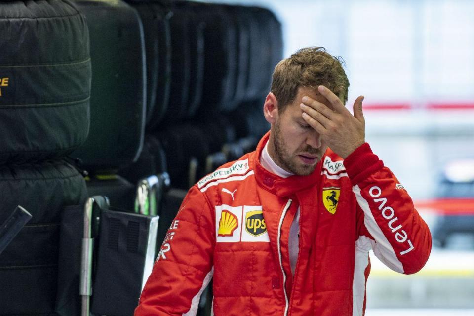 GP da Áustria: Vettel penalizado com três lugares na grelha