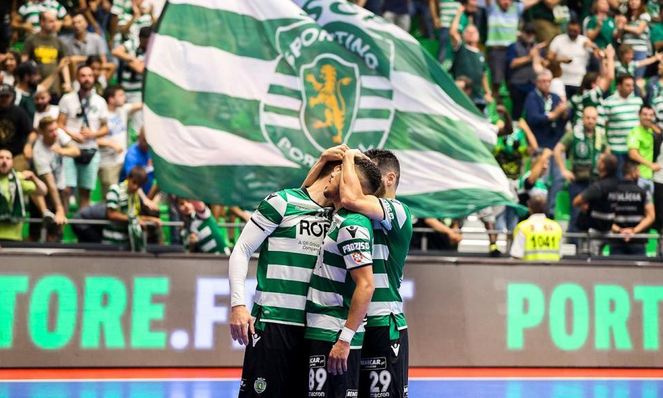 Futsal  Sporting entra a golear na Ronda de Elite da Champions ... 51a18e83f1227