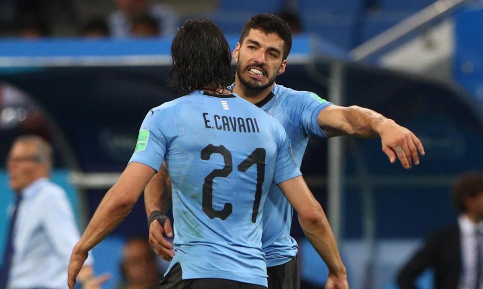 Uruguai-Portugal, 2-1 (destaques)