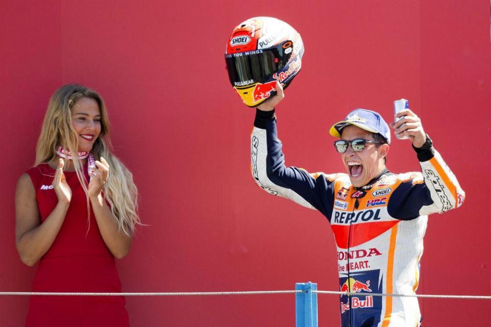 """Marc Márquez: """"Parecia uma corrida de Moto3"""""""