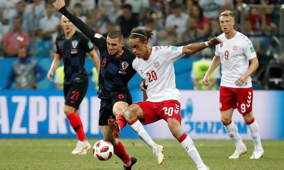 Mundial 2018: Croácia-Dinamarca, 1-1, 3-2 gp (resultado final)