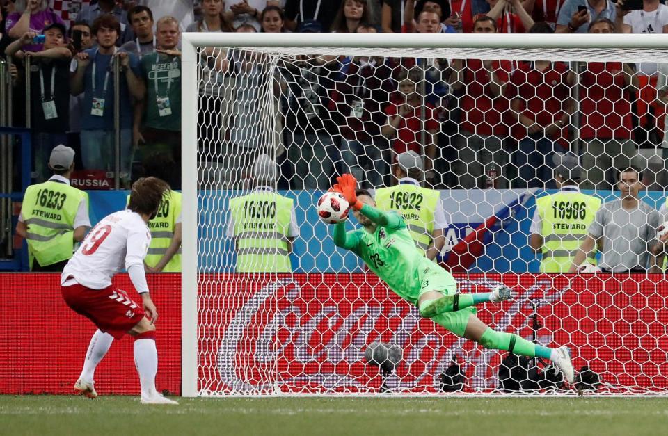 Mundial: Subasic defendeu três penáltis e igualou recorde de Ricardo