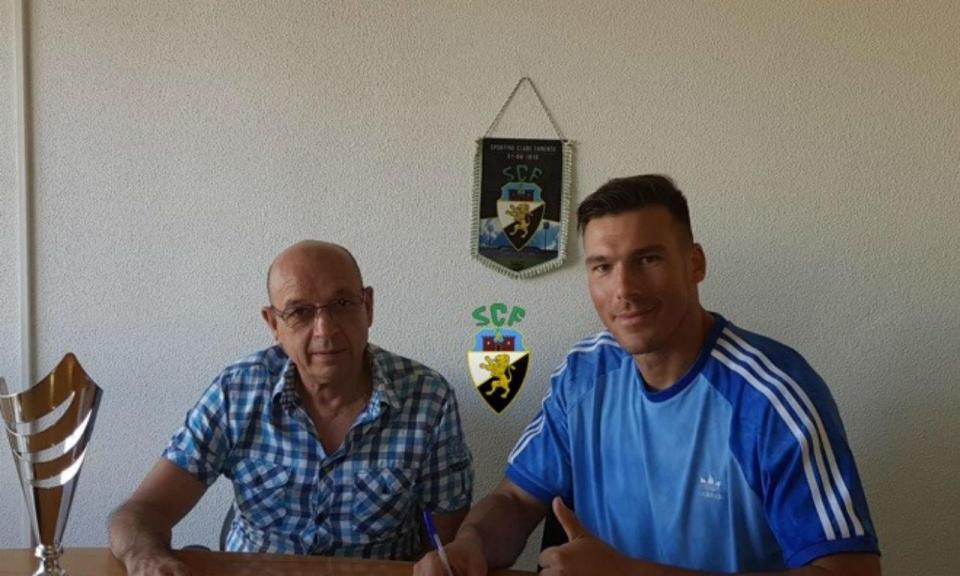 Farense contrata internacional português para a baliza