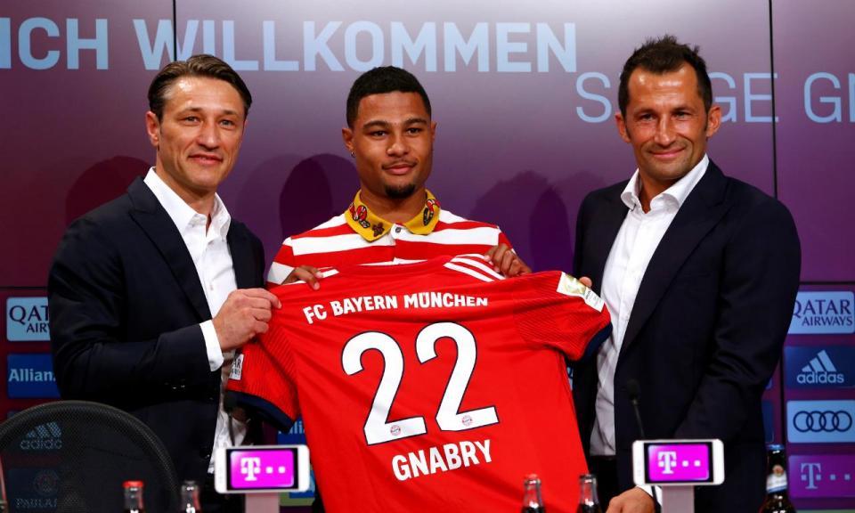 Alemanha: Bayern anuncia regresso de Gnabry