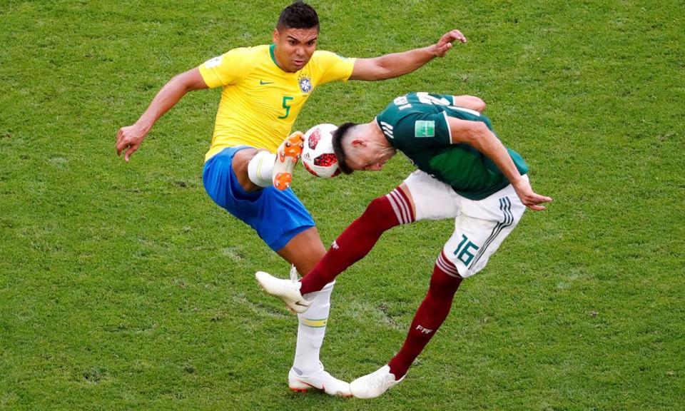 Brasil-México, 2-0 (resultado final)