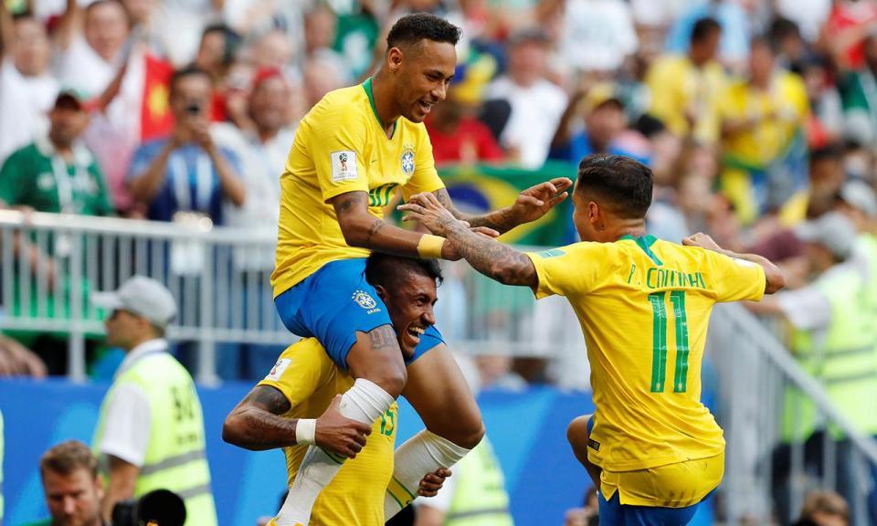 Brasil vence EUA com Felipe e Militão no banco