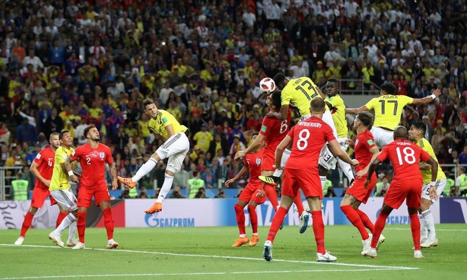 Colômbia-Inglaterra, 1-1 (3-4 gp) (resultado final)